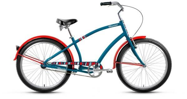 """Велосипед 26"""" Forward Surf 1.0 Изумрудный Матовый 16-17 г"""