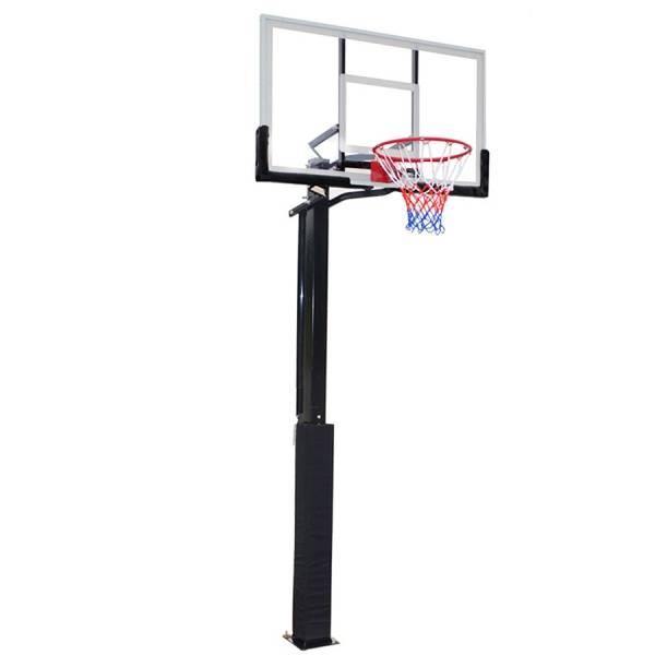 Стойка баскетбольная стационарная DFC ING50A(состоит из 3-х мест)