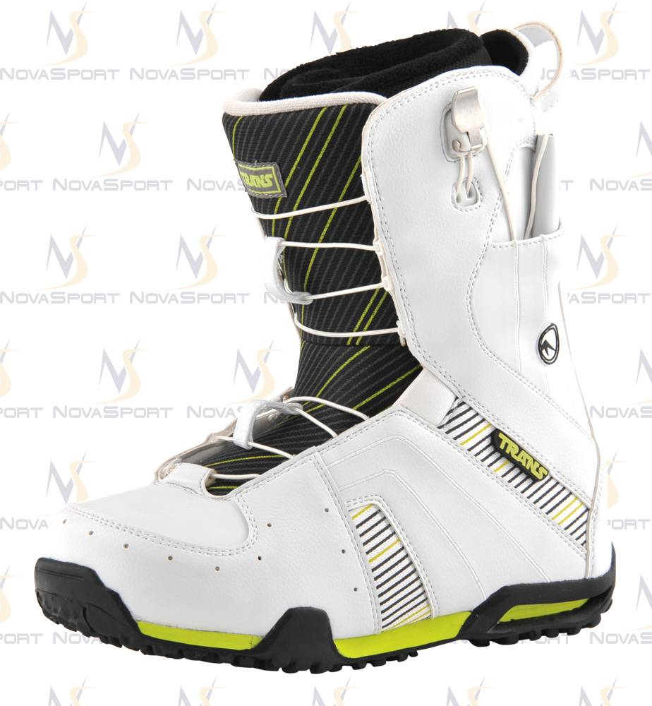 Ботинки для сноуборда TRANS Men Rider white