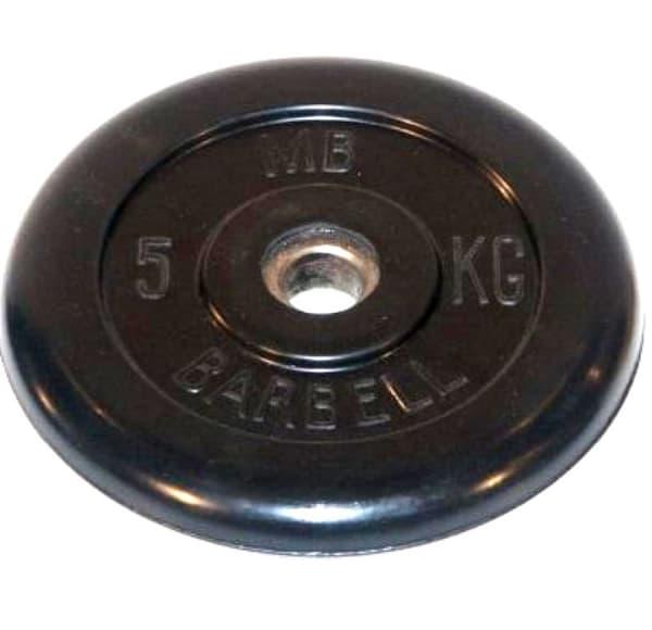 Диск Bestway обрезиненный литой черный 31 мм 5 кг