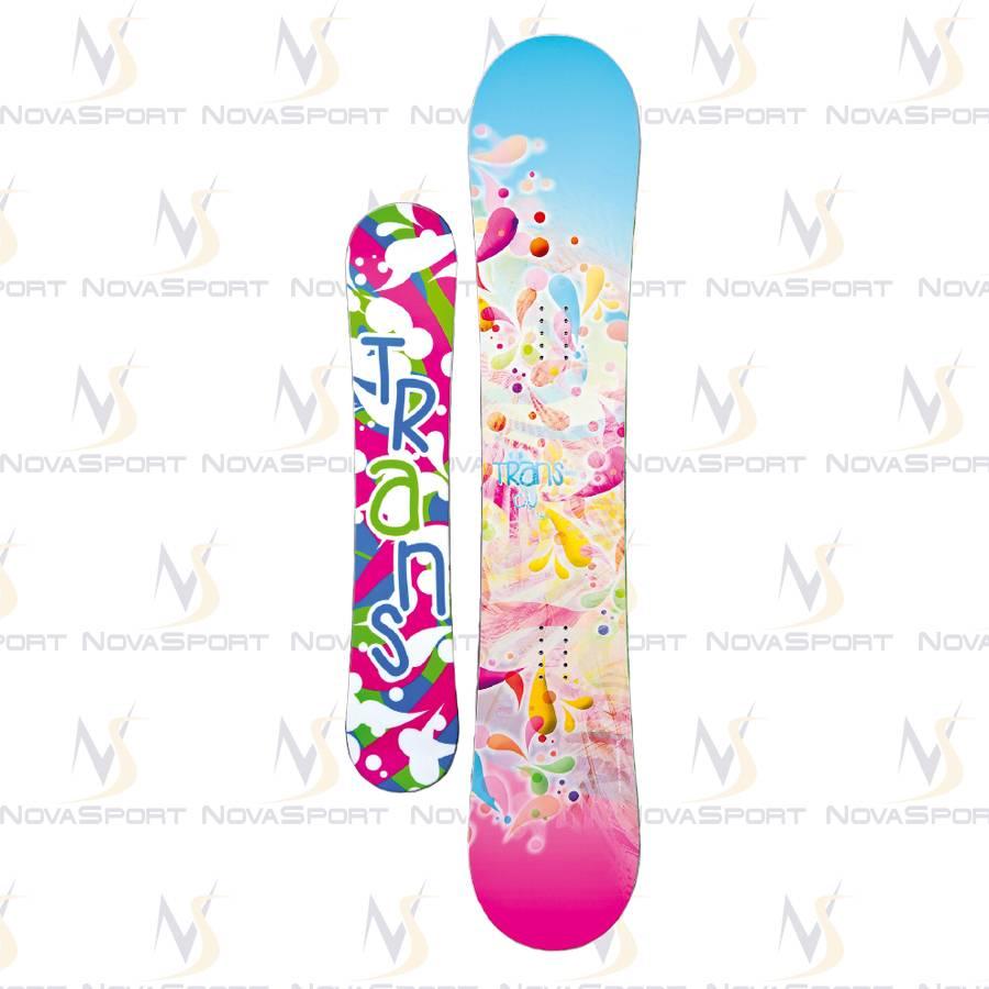 Сноуборд TRANS Girl CU rainbow (2014)