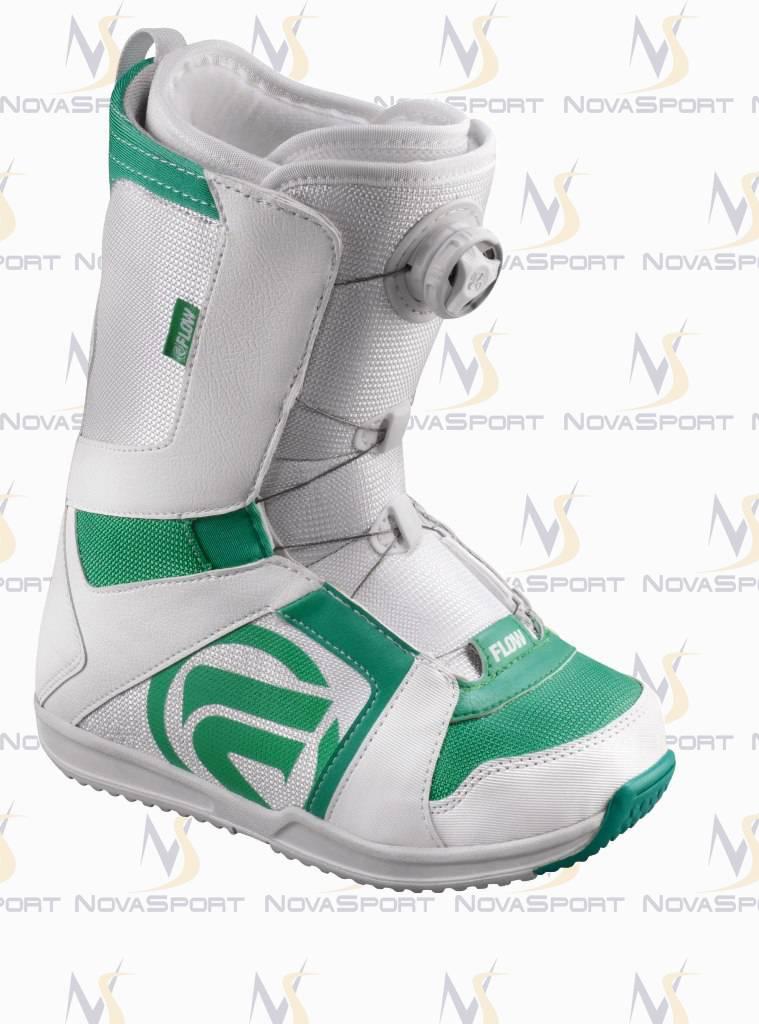 Ботинки для сноуборда women Flow Vega Boa std WHT/AQU
