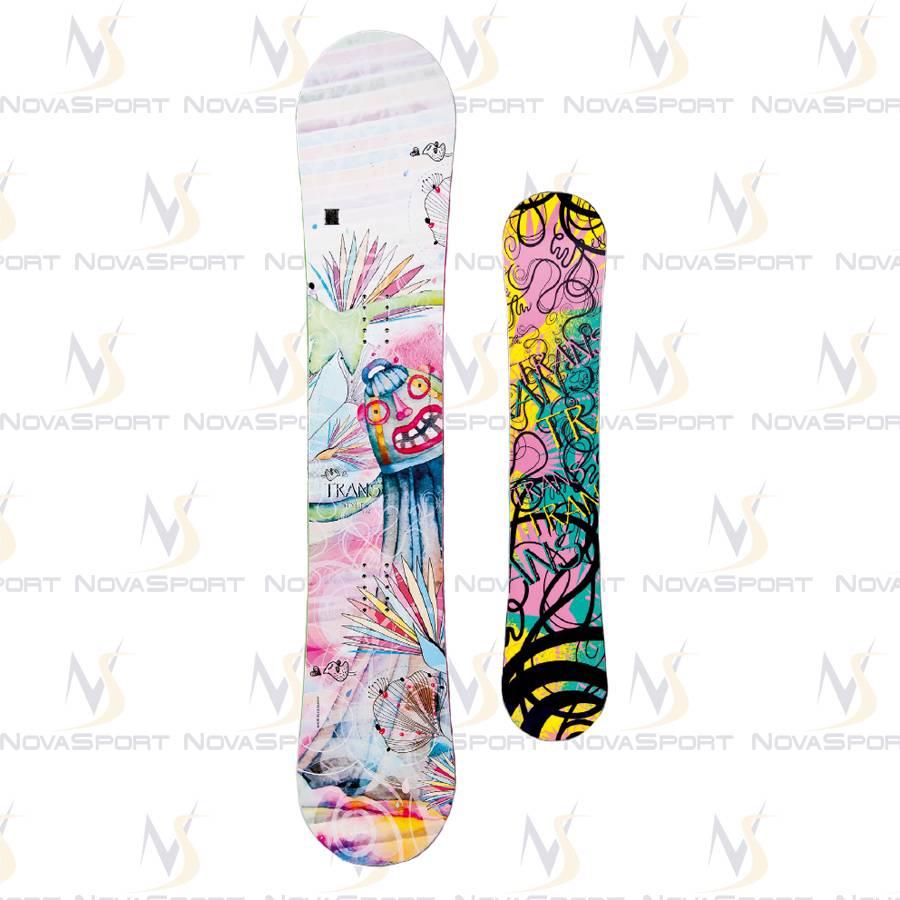 Сноуборд TRANS Girl Style white (2014)