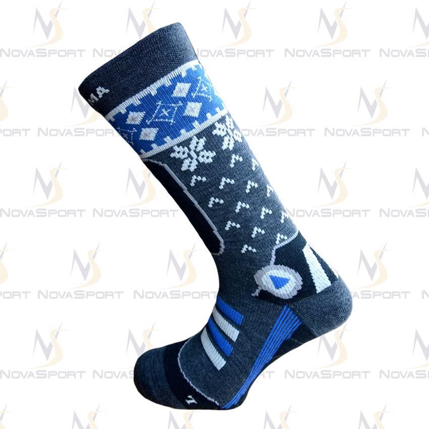 Носки Enforma Nordik Ski grey/blue 4-1056