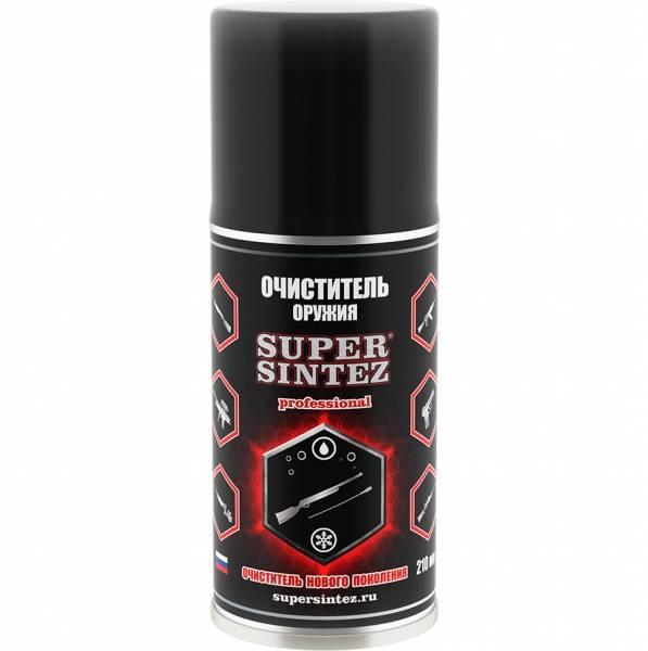 Очиститель Supersintez д/всех видов оружия, 210мл