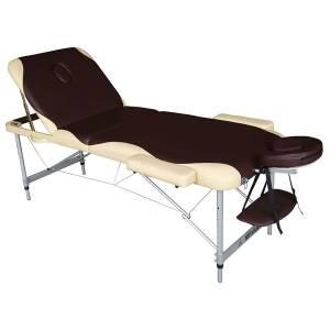 Массажный стол  DFC Nirvana Elegant Pro коричневый