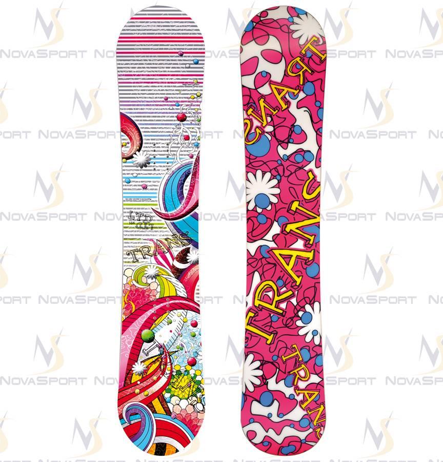 Сноуборд TRANS Girl LTD white (2013)