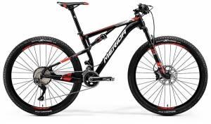 Велосипед Merida Ninety-Six 7.800 Matt Black/Red/White
