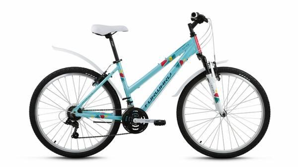"""Велосипед 26"""" Forward Seido 1.0 Зеленый Матовый 18 ск 17-18 г"""