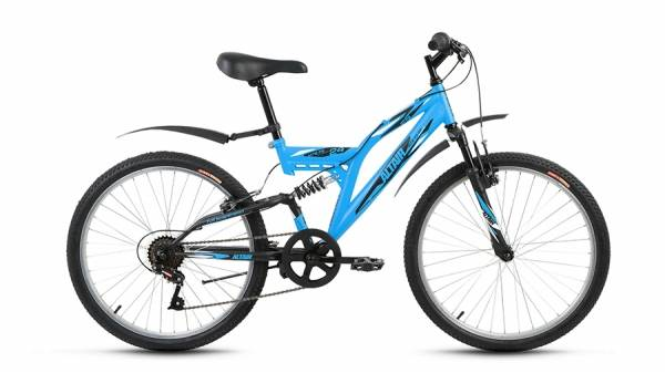 "Велосипед 24"" Altair MTB FS 24 1.0 6 ск 17-18 г"